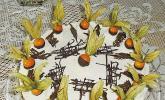 Eierlikör - Physalis Torte