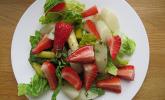Platz 15: Marinierter Spargel - Erdbeer - Salat