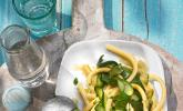 Zucchini - Zitrone Nudeln