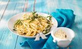 Grüne Bohnen Spaghetti