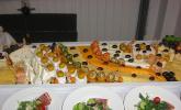 Fruchtig - pikante Käseplatte