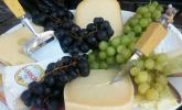 Italienische Käseplatte zu Tomaten - Chutney