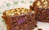 Nuss - Brownies mit Kirschen