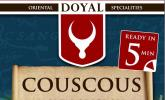 DOYAL Couscous, 4er Pack (4 x 500 g)