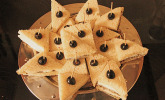 Frischkäse - Oliven - Häppchen