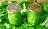 Pesto mit Bärlauch und Mandeln