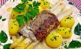 Roastbeef-Spargel Röllchen