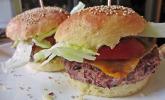 Schnelle Bohnen - Burger