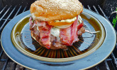 Peerfection Burger mit Krautsalat