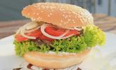 Leckere Tatar Burger