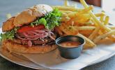 Möhren - Veggie - Burger