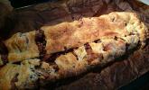 Granatapfelstrudel mit Marzipan und Zimt