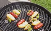 Chorizo-Kartoffel Spieße