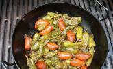 Bratpeperoni mit Chorizo
