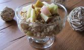 Bananen-Apfel-Zimt-Porridge