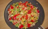 Gemüse - Reis - Pfanne