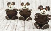 Panda-Cupcakes mit Oreos