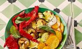 Mediterranes gebackenes Gemüse mit Joghurt - Tomatensauce