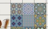 Fliesen-Aufkleber Orientalisches Mosaik