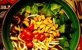 Schnelle vegane Pho-Suppe