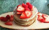 American Pancakes mit Ahornsirup