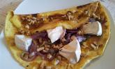 Omelette mit Ziegenkäse und Ahornsirup