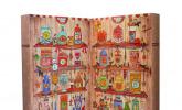 Zauberhafter Adventskalender von Der Zuckerbäcker gefüllt mit Fruchtgummis, Kaubonbons und weiteren süßen Kindheitserinnerungen