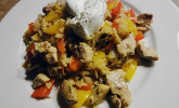 Schnitzel-Reis-Pfanne