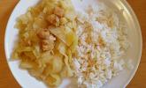 Würzige Weißkohlpfanne