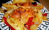 Backofenpfanne mit Hähnchenbrust & Kartoffeln