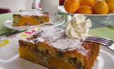 Pfirsich - Mohn Blechkuchen
