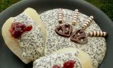 Mohn - Marzipan Pudding
