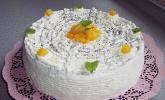 Quark - Mohn - Mango - Torte