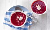 Rezept Cremige Rote Bete-Möhren-Suppe
