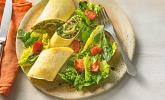 Rezept Crespelle mit Wirsing, Cashewnüssen, Rosinen und Gorgonzola