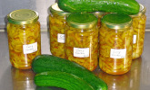 Rezept Curry - Gurken