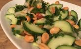 Rezept Erdnuss - Gurken - Salat