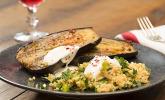 Rezept Gebackene Auberginen mit Bulgur-Salat