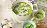 Rezept Grüne Erbsensuppe