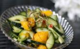 Rezept Gurken - Mango - Salat