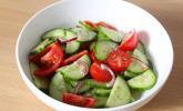 Rezept Gurken - Tomatensalat