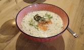 Rezept Gurken-Sahne-Suppe mit Lachs
