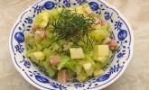 Rezept Gurkensalat mit Apfel