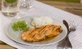 Rezept Japanischer gegrillter Lachs mit Teriyaki-Soße