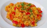 Rezept Kürbis-Paprika-Couscous