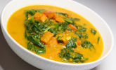 Rezept Kürbis-Spinat-Curry