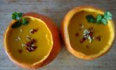 Rezept Kürbissuppe mit Ingwer und Kokos