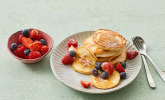 Rezept Kalorienarme Bananen Pfannkuchen