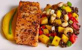 Rezept Linsensalat mit Mango und Paprika