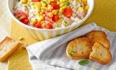 Rezept Maissalat mit rotem Paprika und Sauerrahmdressing